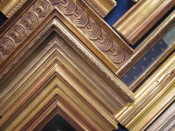 Gold-leaf frames