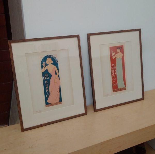 Frames for Pochoirs