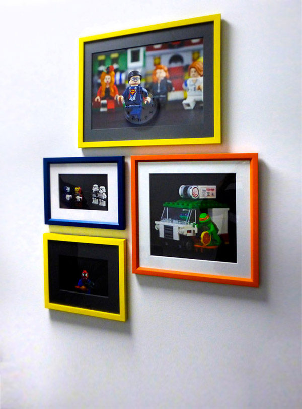 Color Popping Frames